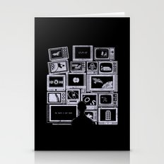 TV Addict Stationery Cards