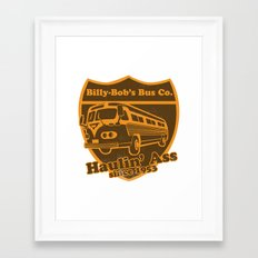 Haulin' A Framed Art Print