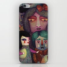 Sing my heart's song or else! iPhone & iPod Skin