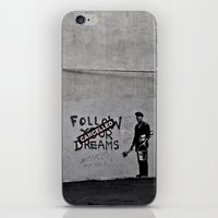 Dreams Cancelled iPhone & iPod Skin