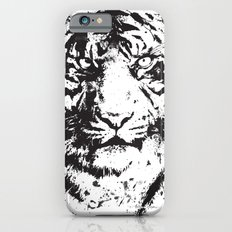 White Tiger iPhone 6s Slim Case
