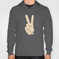 Love Peace And Carrots Hoody