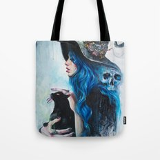 Blue Valentine Tote Bag