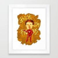 Stark is Fabulous Framed Art Print