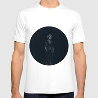 Gregory Isaacs Mens Fitted Tee White SMALL