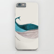 there´s a whale  Slim Case iPhone 6s