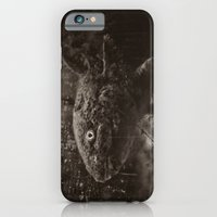iPhone & iPod Case featuring Axolotl Horst grey by ponymonster