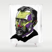 V. Van Gogh Shower Curtain