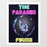 Paragon Mass Effect Art Print