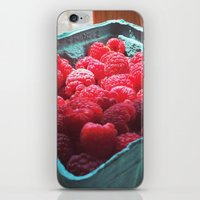 Raspberry Harvest iPhone & iPod Skin