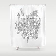 Simplexity Shower Curtain