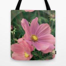 Wild flower in pink Tote Bag