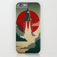 clouds iPhone & iPod Cases featuring The Voyage by The Art of Danny Haas
