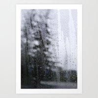 melody of rain Art Print