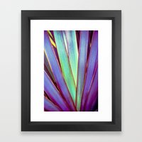 Fiesta Palm Framed Art Print