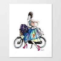 Moda Italia Canvas Print