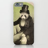 iPhone & iPod Case featuring Proper Panda by Chase Kunz