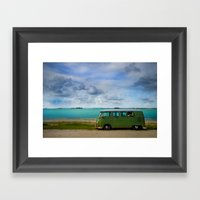 Volkswagen Bus  Framed Art Print