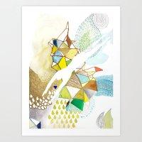 AGUA Art Print