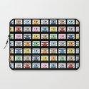 70 Rainbow Tapes Laptop Sleeve