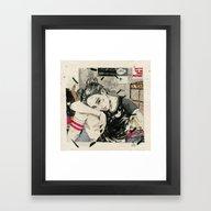 See Through Lies Framed Art Print