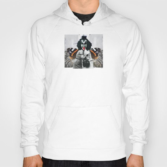 The last Kiss Collage Hoody