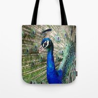 Peacock Tote Bag