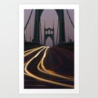 St. Johns Bridge II Art Print