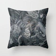 When Adam Lost Eve Throw Pillow