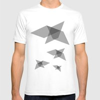 Come fly with me Mens Fitted Tee White SMALL