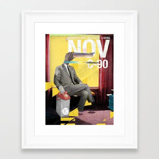 Modern Day Warfare  Framed Art Print
