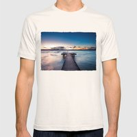 a stormy day ends Mens Fitted Tee Natural SMALL