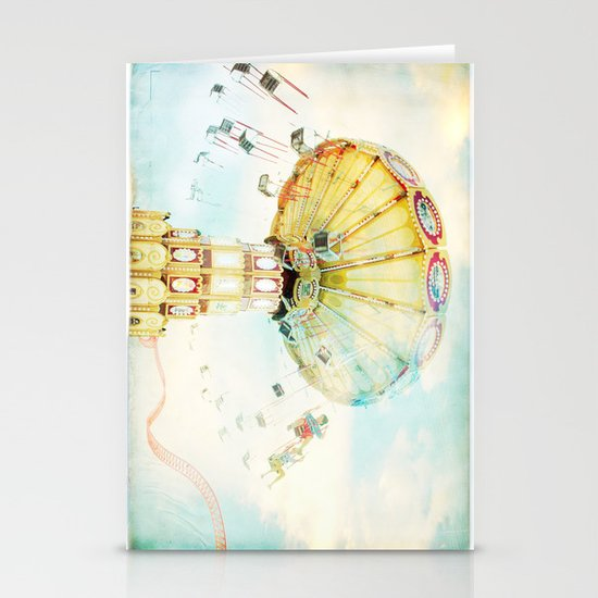 Step back into fun Stationery Card