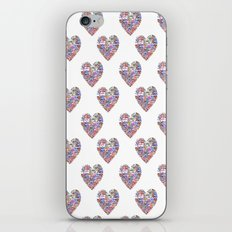True Love, Passport Stamp Heart iPhone & iPod Skin