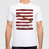 Navy Jack Mens Fitted Tee Ash Grey SMALL