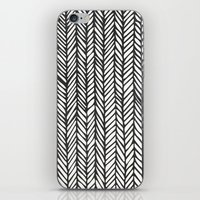 Black Threads iPhone & iPod Skin