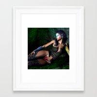 Let Your Light Shine In Framed Art Print