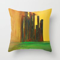 This City, Too, Will Be … Throw Pillow