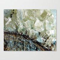 chrysocolla & calcite 2 Canvas Print