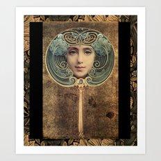 Mirror, Mirror on the Wall Art Print