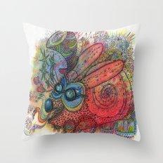 Steampunk Creature Throw Pillow