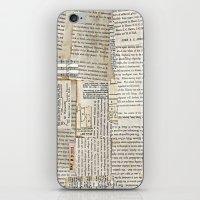 Vintage Paper Scraps iPhone & iPod Skin