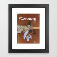 Locals Only - Vancouver Framed Art Print