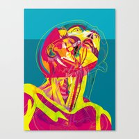 Anatomy 210914 Canvas Print