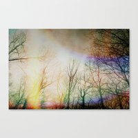 Spring Outside Canvas Print