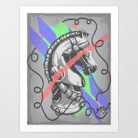 Stay? Art Print