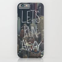 iPhone & iPod Case featuring Let's Run Away to NYC by Leah Flores