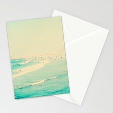 beach sunday Stationery Cards