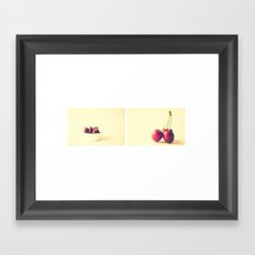 Cherry Kitchen Art  Framed Art Print