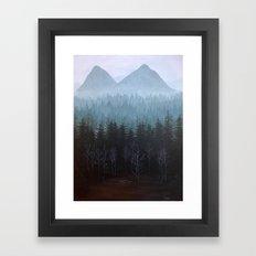 Twin Peaks Glastonberry Grove Landscape Framed Art Print